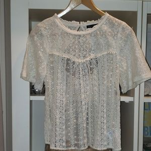 American Eagle Outfitters Lace Top